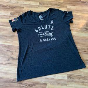 Tops - Nike Tee salute to service Seattle Seahawks